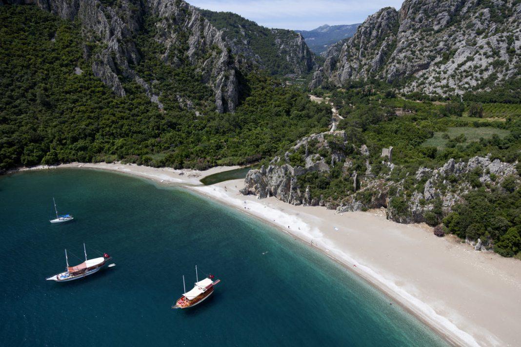 Олимпос пляж