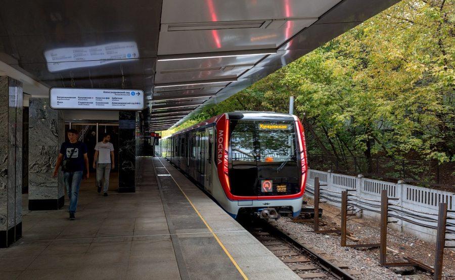 Филевская линия метро в Москве