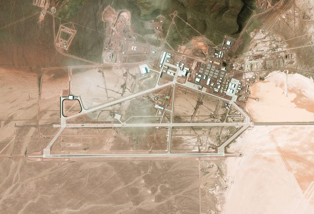 Секретные военные объекты