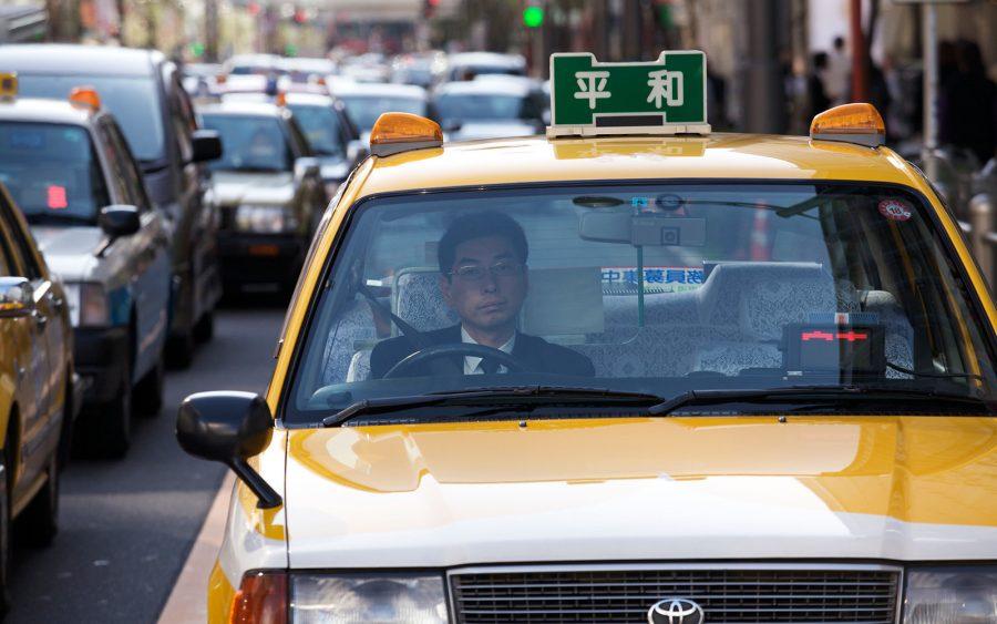 Автомобилисты в Японии