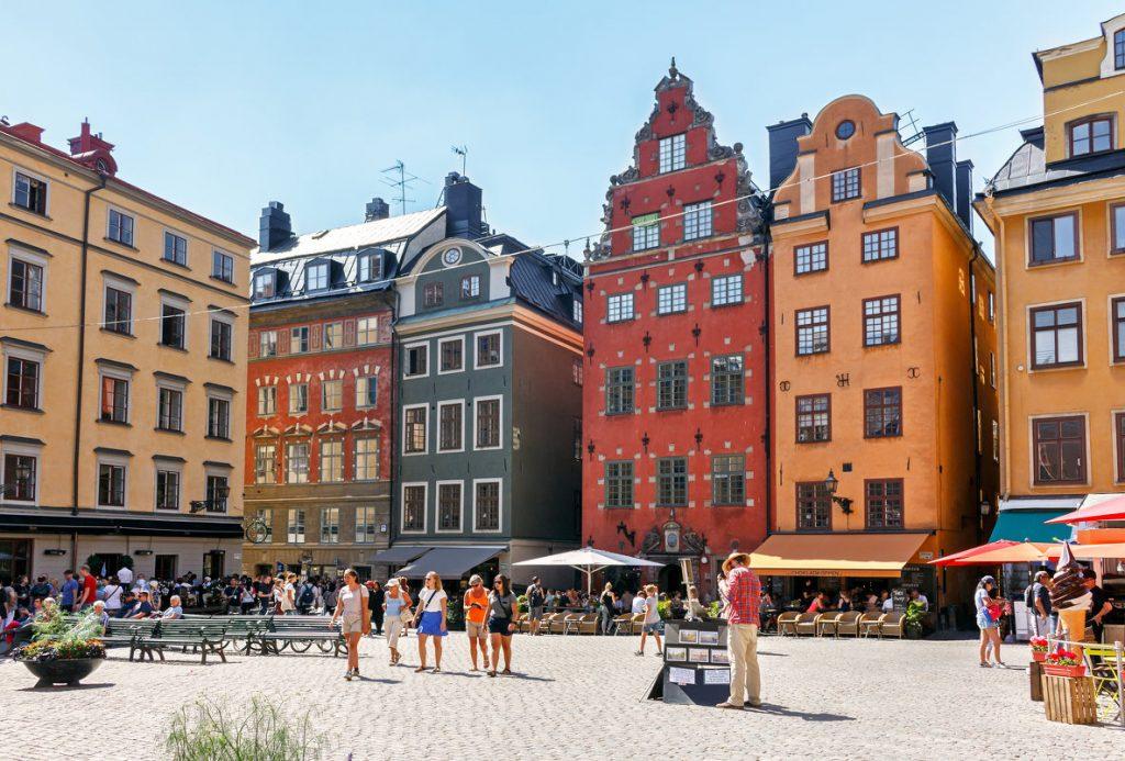Площадь Сторторгет в Швеции