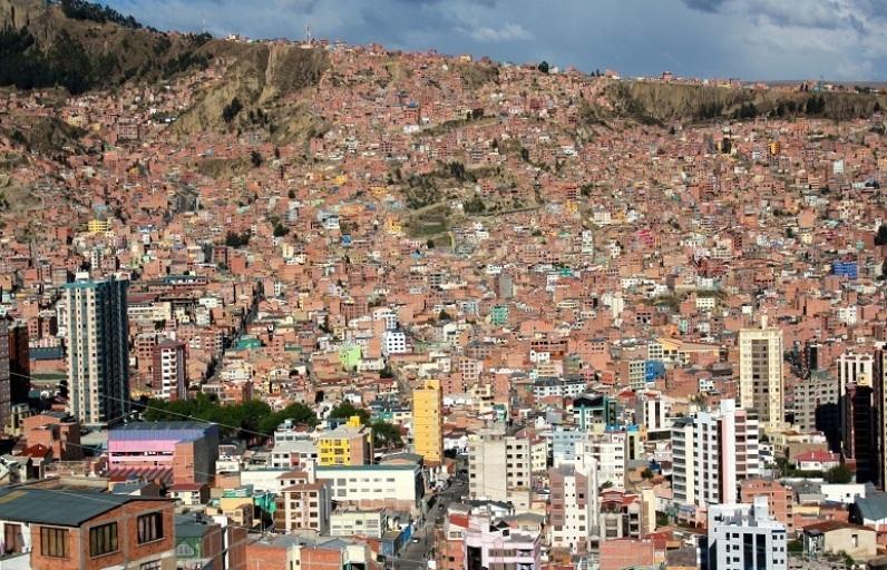 Эль-Альто в Боливии