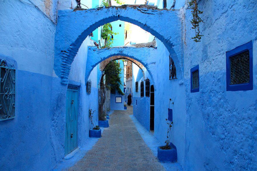 Шефшауен в Марокко