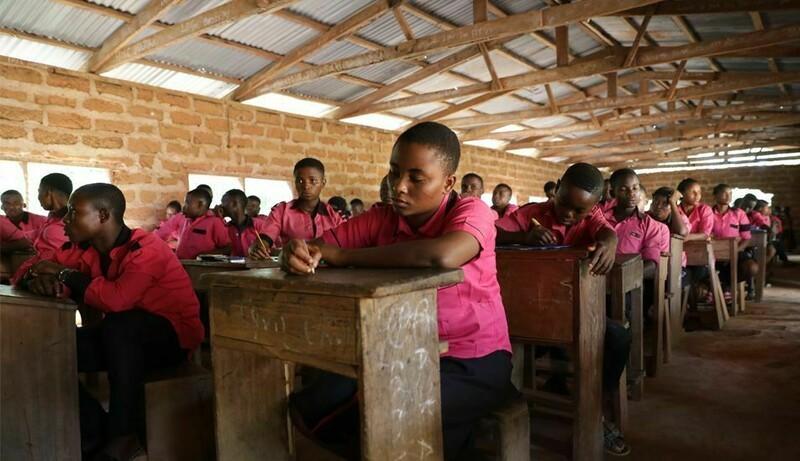 В нигерийской деревне